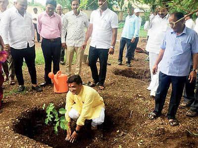 Activist announces contest of planting saplings on birthday