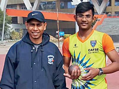 Kshitij, Tanishi shine in SSPF national meet
