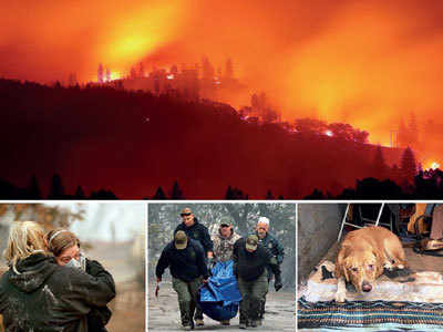 California wildfire death toll rises to 23