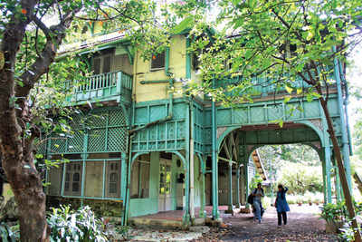 Kipling's bungalow out of the jungle and into the tourist map