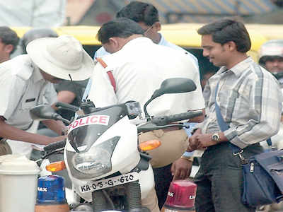 Traffic police revise fines