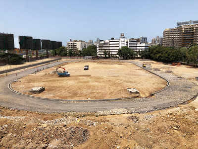 'Neglected' land will be city's first athletics hub: Revamp of 7-acre Bandra Reclamation plot underway; national-level sports facility opens next month.
