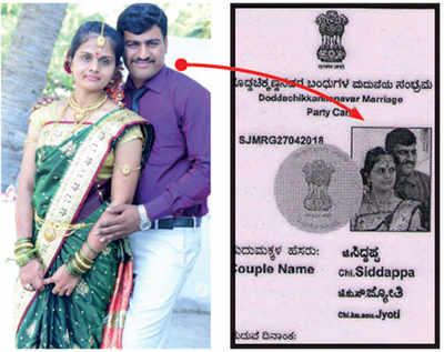 Karnataka Elections 2018: Activist designs wedding card like voter ID