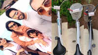 Abhishek Bachchan shares some adorable pictures with wife Aishwarya Rai Bachchan and daughter Aaradhya