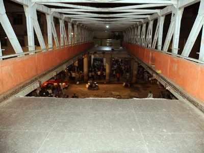 CSMT bridge collapse: Ajoy Mehta inspects bridge, orders inquiry