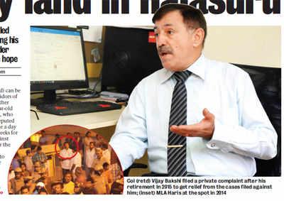 Kargil hero harassed, humiliated for saving Army land in Halasuru