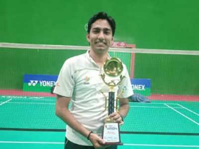 All India Masters Ranking Badminton Tournament: Vivek records a memorable win