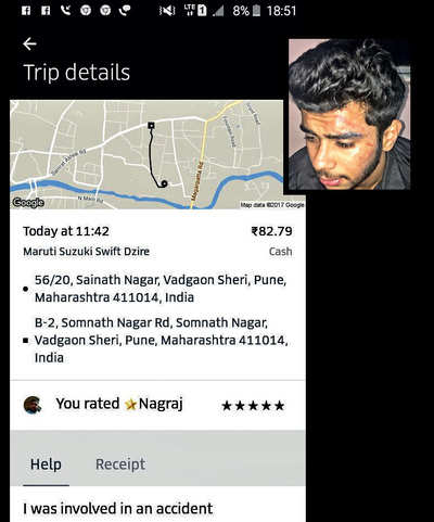 Now, rider beaten up by Uber cabbie