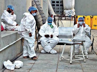 Covid cases surge in Saurashtra