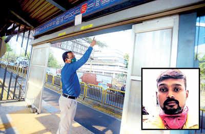 PMPML on weekend vigil to nab bus stop thieves on BRTS line