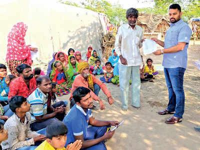 Nomadic tribes get land in Surendranagar