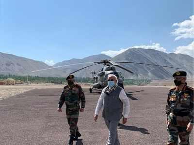 Photos: PM Modi's surprise visit to Ladakh amid India-China tensions