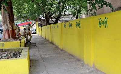 Colour trouble for Swachh Bharat in Bengaluru