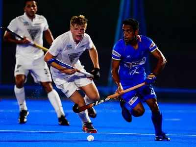 Indian men's hockey team loses to New Zealand in Olympic Test Event