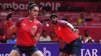 Asian Games 2018: Sharath Kamal, Manika lose in Table Tennis singles
