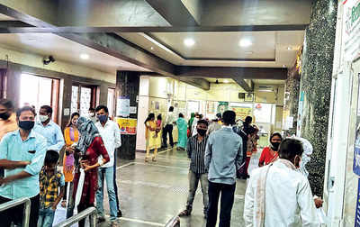 COVID-19, OPD patients mix at Aundh hospital