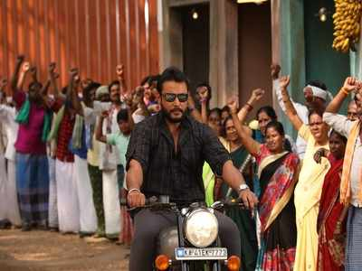 Odeya movie review: This Darshan-starrer movie is a star vehicle, nothing less, nothing more