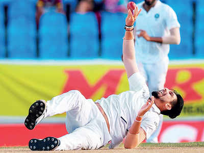 Fiery Ishant Sharma casts a spell over Windies