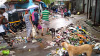 Cyclone Nisarga dumps garbage on streets in Mumbai's Ghatkopar area