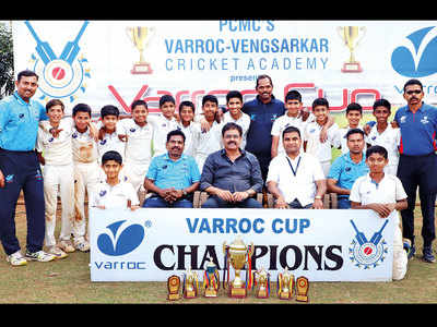 VVCA emerge Under-13 champs