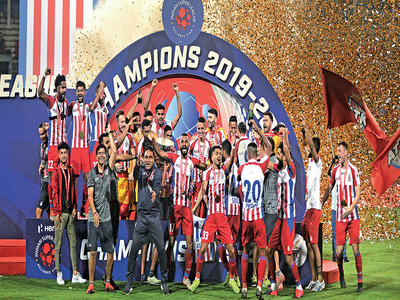 Goals from Javi and Edu help ATK beat Chennaiyin FC to clinch the ISL title for record third time