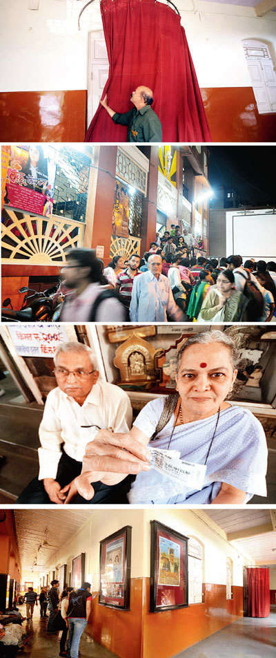 Curtains for Prabhat Talkies