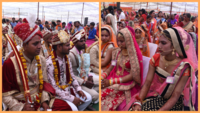 Rajasthan: 42 couples tie the knot during mass-marriage held in Jaipur