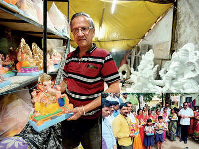Punekars bring back Ganeshotsav celebrations for... flooded villages