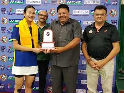 Yonex Sunrise India Junior International Grand Prix: Meiraba, Crasto-Bhatnagar go down fighting in finals