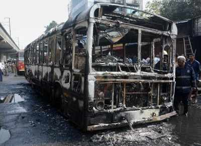 BEST bus fire: investigators say fuel pipe breach caused fire