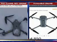 Shot down Indian spy drone, claims Pakistan; shows fake photo