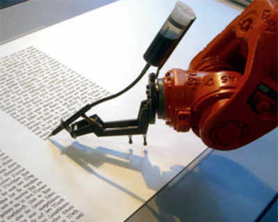 Robot reporter finishes article in just one second