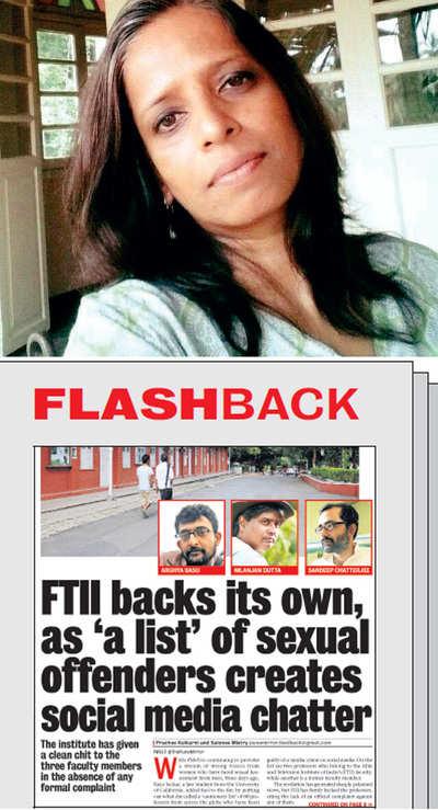 Batchmate from FTII reveals she listed Arghya Basu