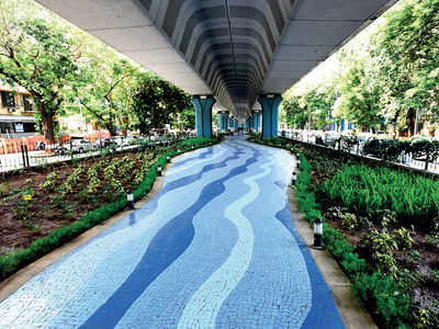 Inspired by Matunga flyover garden, BMC to build one under Dadar TT flyover at a cost of Rs 4.5 cr