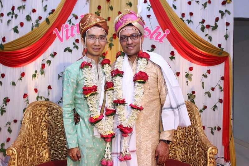 Hrishi Sathawane and Vinh – The couple