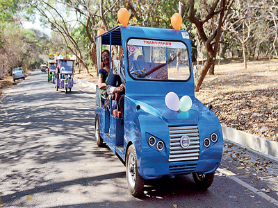 Bannerghatta Biological Park to get electric buggies