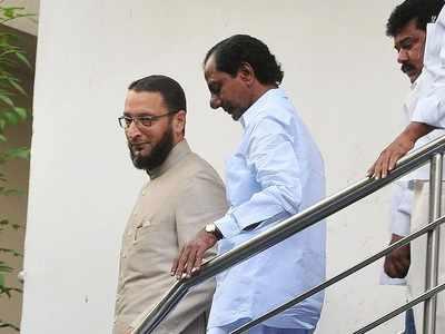 K Chandrasekhar Rao, Asaduddin Owaisi differ on Bharat Ratna for PV Narasimha Rao; TRS, AIMIM friendship intact