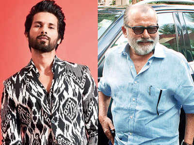 Shahid Kapoor and dad Pankaj reunite after four years for Jersey