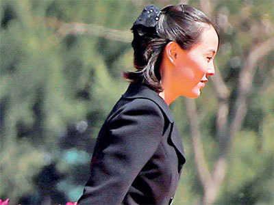 Kim's sister to make historic visit to South
