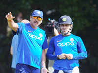 Sending MS Dhoni at No.7 was a team decision: Ravi Shastri
