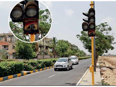 Risk lives, mock traffic initiative