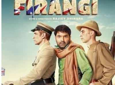 Firangi movie review: Kapil Sharma's film is neither meticulously-assembled nor a visual spectacle like Rangoon to even be watchable