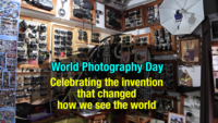 World Photography Day: The evolution of camera