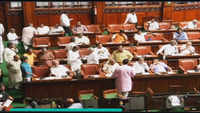 Karnataka floor test: BJP legislators sit on overnight dharna inside Vidhana Soudha