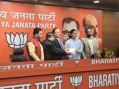 Saina Nehwal joins BJP, praises PM Modi for his hard work