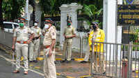 Mumbai: Security provided at Ambedkar house after vandalism
