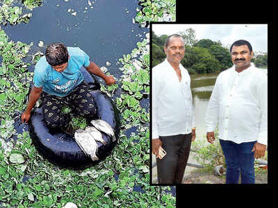 PCMC adopts Indrayani model to make Pavana free of water hyacinth