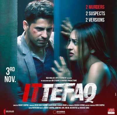 Ittefaq: Sidharth Malhotra, Sonakshi Sinha share their versions on murder mystery, but what's the truth?