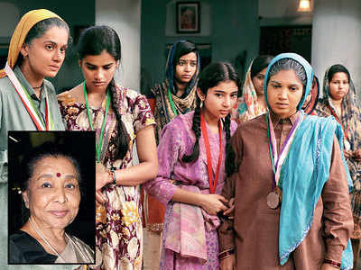 Asha Bhosle sings a song for Taapsee Pannu and Bhumi Pednekar's Saand Ki Aankh