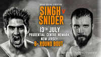 Boxer Vijender Singh to make his US debut against local favourite Mike Snider